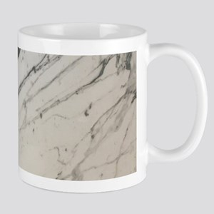 chic white marble look Mugs