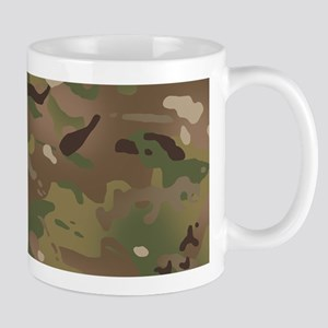 Military Camouflage Pattern 11 oz Ceramic Mug