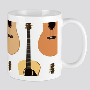 Acoustic Guitars Pattern Mug