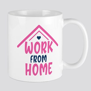 Work From Home Mugs - CafePress