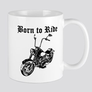 Born To Ride Motorcycle Mugs