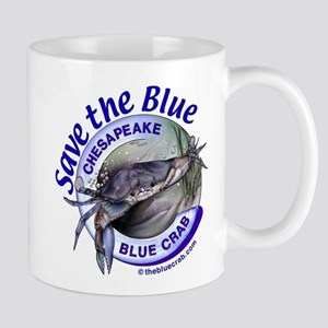 """Save the Blue"" Mug"