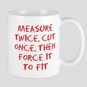 measure force 11 oz Ceramic Mug