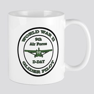 WW 2 glider pilot D-Day, june 6, 1944, Mugs