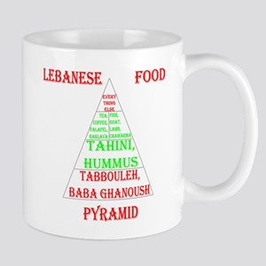 Lebanese Food Pyramid Mug