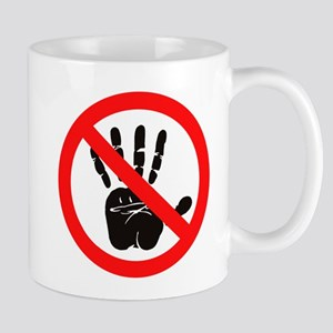 Hands Off! Mugs