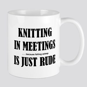 Knitting in Meetings 3001 Mugs