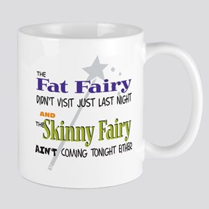 Fat Fairy-3 Mugs