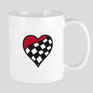 Racing Heart Mugs