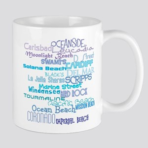 SurfLine01 Mugs