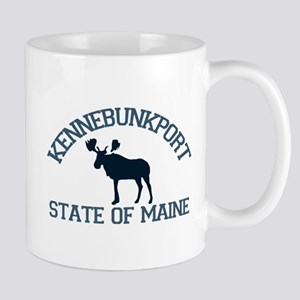 Kennebunkport ME - Moose Design. Mug