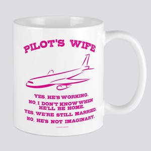 Pilot's Wife Humor Mugs