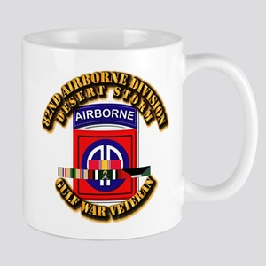 Army - DS - 82nd ABN DIV w SVC Mug