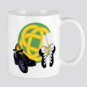 Celtic Knot Irish Shoes Mugs