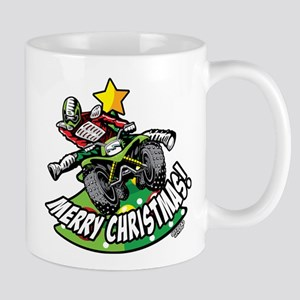 ATV Quad Kick Christmas Mugs