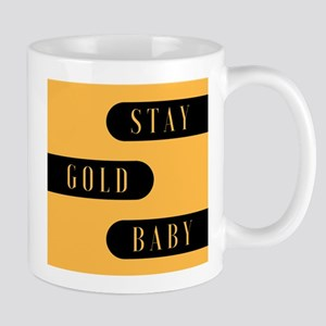 Stay Gold Baby Mugs