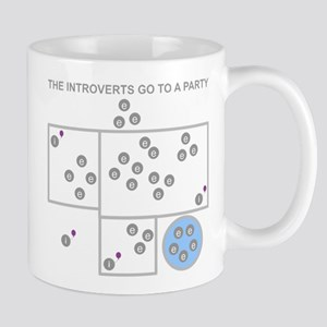 The Introverts Go To a Party Mug