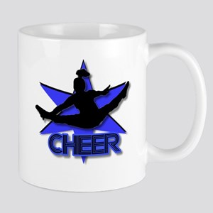 Cheerleader in blue Mug