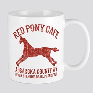 Longmire Red Pony Mugs