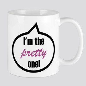 I'm the pretty one! Stainless Steel Travel Mugs