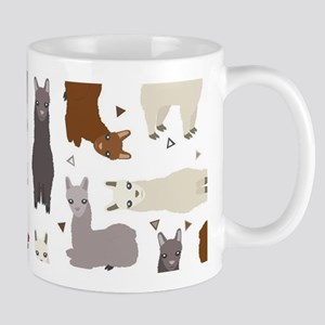 Alpaca Posse Pattern 11 oz Ceramic Mug