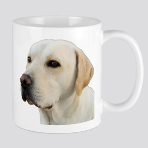 Yellow Lab Head Mug