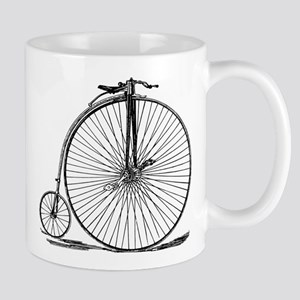 Vintage Penny Farthing Bicycle Mugs