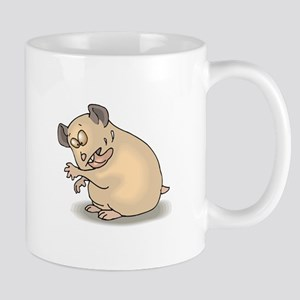 Hamster Cleaning Self Mugs