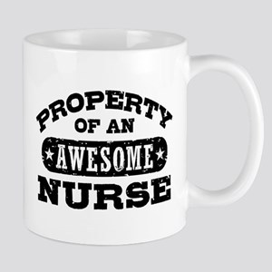 Property of an Awesome Nurse Mug