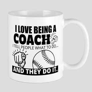 Baseball Coach Humor Mugs