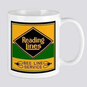 Reading Bee Lines Stainless Steel Travel Mugs
