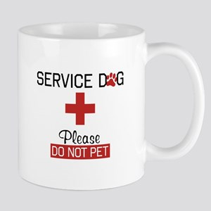 Service Dog Please Do Not Pet Mugs