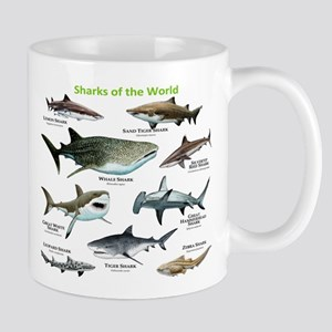 Sharks of the World Mug