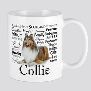 Collie Traits 11 oz Ceramic Mug