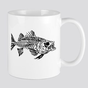 Striped Bass Skeleton Mug