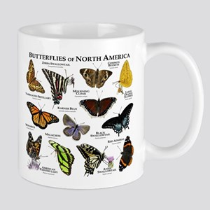 Butterflies of North America Mug