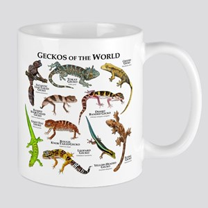 Geckos of the World Mug