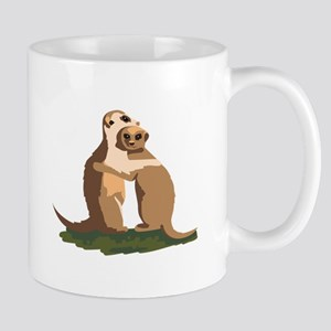 Meerkat Couple Mugs