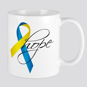Down Syndrome Ribbon Hope Mug