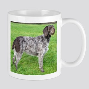 german wirehaired pointer liver full Mugs