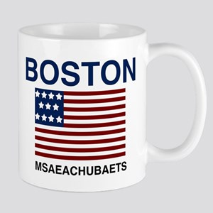 Boston Msaeachubaets Mugs