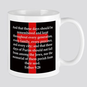 Esther 9-28 11 oz Ceramic Mug