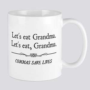 Let's Eat Grandma Commas Save Lives Mugs