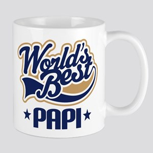 Worlds Best Papi Gift Idea Mugs