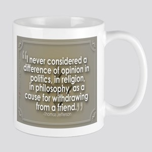 A difference of opinion... Mug
