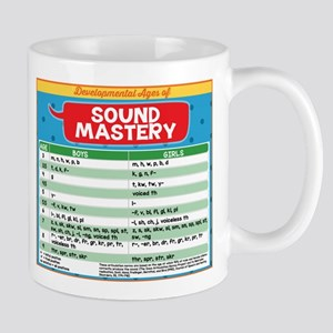 slp chart developmental ages of sound mastery Mugs