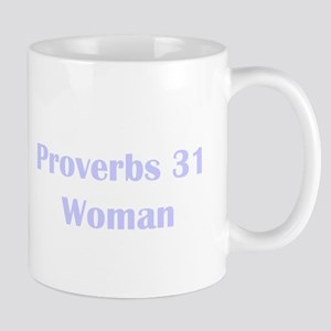 Lilac Proverbs 31 Woman Mug