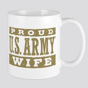 Proud US Army Wife Mug