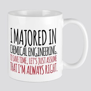 Chemical Engineer Major Mugs