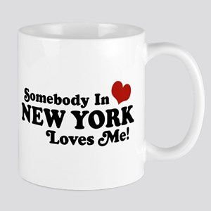 Somebody in New York Loves Me Mug